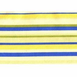 دستمال سفره کتان رزين تاژ طرح اسپرید آبی (Blue Sprid)