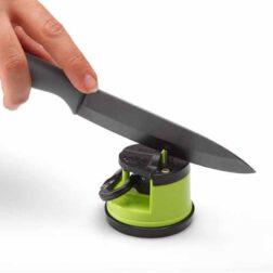 چاقو تیزکن الماسی با کف مکنده نوین