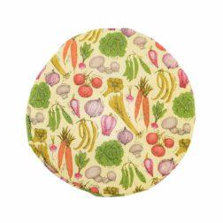 دم کنی ۳ تکه کشدار رزین تاژ طرح سبزیجات