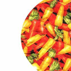 دم کنی ۳ تکه رزین تاژ طرح هویج