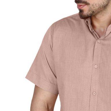 پیراهن آستین کوتاه تترون مردانه تیدا 5 رادک