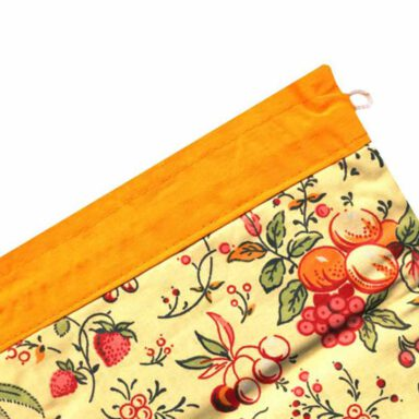 کیسه سبزی چاپی رزین تاژ طرح تمشک 9 رادک