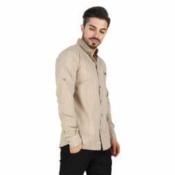پیراهن آستین بلند پنبه ای مردانه ساوین