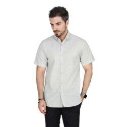 پیراهن آستین کوتاه تترون مردانه تیدا