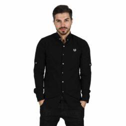 پیراهن آستین بلند پوپلین مردانه ساوین