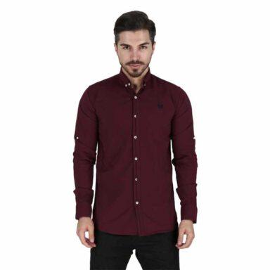 پیراهن آستین بلند پوپلین مردانه ساوین 1 رادک