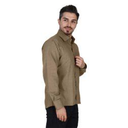 پیراهن آستین بلند آکسفورد مردانه یزدباف