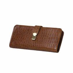 کیف پول دست ساز مردانه-زنانه رنگ قهوه ای