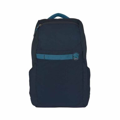 کوله پشتی لپ تاپ اس تی ام STM مدل SAGA 15 inch رنگ آبی تیره 1 رادک