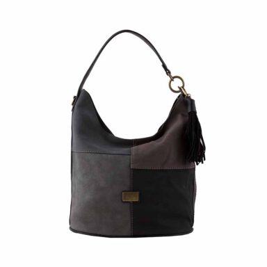کیف دستی زنانه دیوید جونز David Jones مدل 1-5646 رنگ مشکی 1 رادک