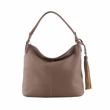 کیف دستی زنانه دیوید جونز David Jones مدل cm3526 رنگ شتری 1 رادک