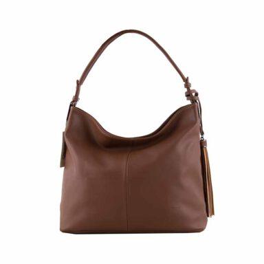 کیف دستی زنانه دیوید جونز David Jones مدل cm3526 رنگ قهوه ای 1 رادک