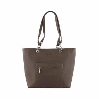 کیف دستی زنانه دیوید جونز David Jones مدل cm3560 رنگ خاکی 1 رادک