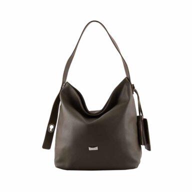 کیف دستی زنانه دیوید جونز David Jones مدل cm3630 رنگ خاکستری 1 رادک