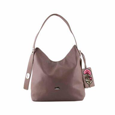 کیف دستی زنانه دیوید جونز David Jones مدل cm3630 رنگ صورتی 1 رادک