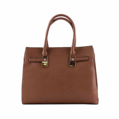 کیف دستی زنانه دیوید جونز David Jones مدل cm8059 رنگ قهوه ای 1 رادک