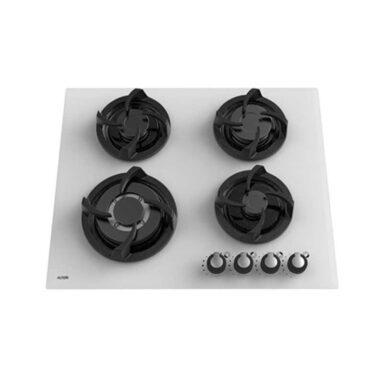 اجاق گاز توکار رومیزی شیشه ای ۴ شعله ی آلتون مدل G401W 1 رادک