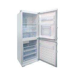 یخچال فریزر پایین الکترواستیل مدل ES35 با یخساز اتوماتیک-سفید چرم