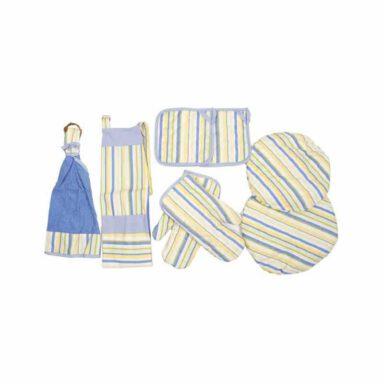 rezin-taj-8-pieces-blue-sprid-kitchen-set