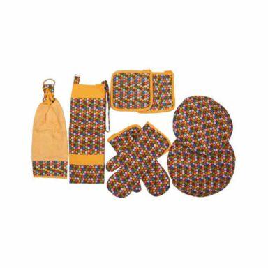 rezin-taj-8-pieces-colorful-dotted-denim-kitchen-set