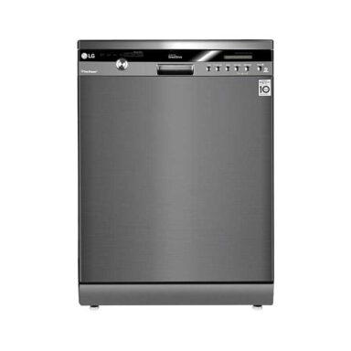 ماشین ظرفشویی ۱۴ نفره مبله ال جی مدل DC75W-GSC 1 رادک