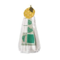 دستمال آویز آشپزخانه توراندخت طرح لیمو