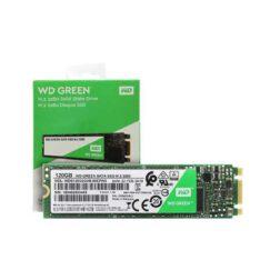 حافظه SSD وسترن دیجیتال مدل GREEN WDS120G2G0B ظرفیت 120 گیگابایت