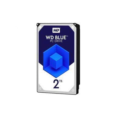 هارددیسک اینترنال وسترن دیجیتال مدل Blue WD20EZRZ ظرفیت 2 ترابایت 1 رادک