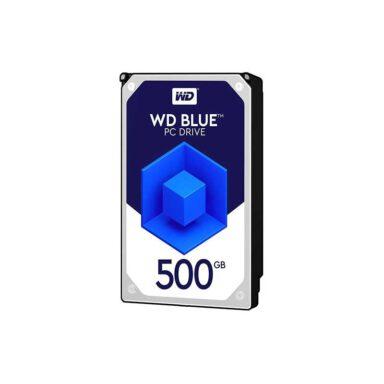 هارددیسک اینترنال وسترن دیجیتال مدل Blue WD5000AZRZ ظرفیت 500 گیگابایت 1 رادک