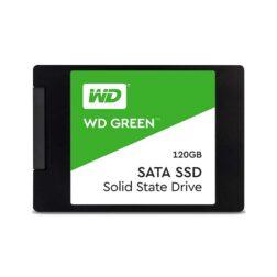 حافظه SSD وسترن دیجیتال مدل GREEN WDS120G2G0A ظرفیت 120 گیگابایت