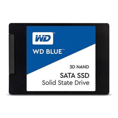 حافظه SSD وسترن دیجیتال مدل Blue WDS500G2B0A ظرفیت 500 گیگابایت 1 رادک