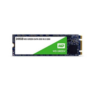حافظه SSD وسترن دیجیتال مدل GREEN WDS240G2G0B ظرفیت 240 گیگابایت 1 رادک
