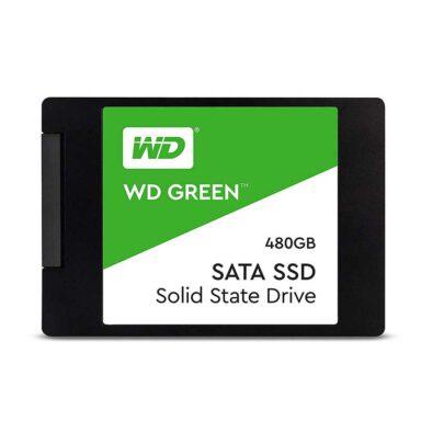 حافظه SSD وسترن دیجیتال مدل GREEN WDS480G2G0A ظرفیت 480 گیگابایت 1 رادک