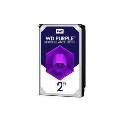 هارددیسک اینترنال وسترن دیجیتال مدل Purple WD20PURZ ظرفیت 2ترابایت