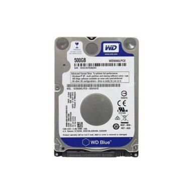 هارددیسک اینترنال وسترن دیجیتال مدل Blue WD5000LPCX ظرفیت 500 گیگابایت 1 رادک