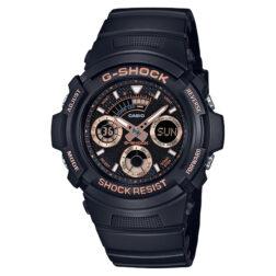 ساعت مچی مردانه کاسیو جی شاک مدل AW-591GBX-1A4DR
