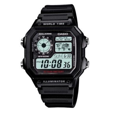 ساعت مچی دیجیتال مردانه کاسیو کد AE-1200WH-1A