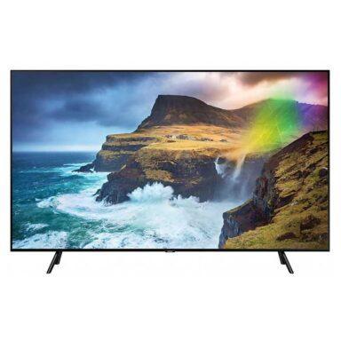 تلویزیون 4k Q LED سامسونگ Q70R مدل 55 اینچ 1 رادک