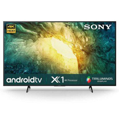 تلویزیون ال ای دی 4K سونی مدل X7500H سایز 55 اینچ 1 رادک
