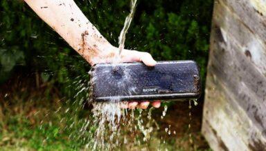اسپیکر بلوتوث سونی قابل حمل مدل Sony SRS-XB41 3 رادک