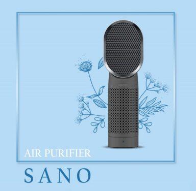 دستگاه تصفیه کننده هوا میوتو ایتالیا مدل SANO 2 رادک
